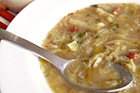 Brynt vitkålssoppa recept