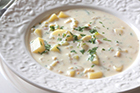 Clam chowder recept