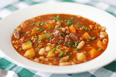 Fransk köttsoppa recept