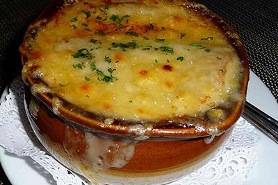 Fransk löksoppa recept