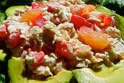 Grön lunchsallad recept
