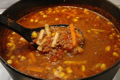 Köttfärssoppa recept