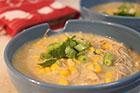 Kyckling- och majssoppa recept