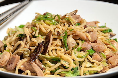 Kycklingwok recept