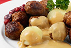 Middagsköttbullar recept