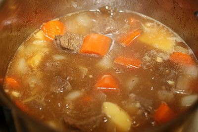 Mörk köttbuljong recept