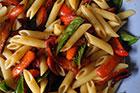 Pasta med paprika recept