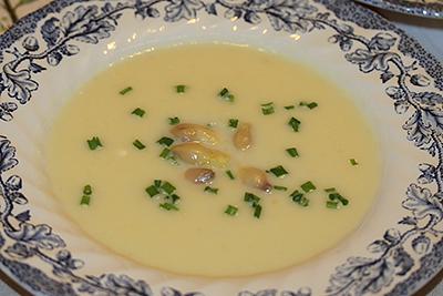 Sparrissoppa recept